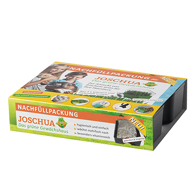 """Nachfüllpackung einzeln für Das Grüne Gewächshaus """"Joschua"""""""